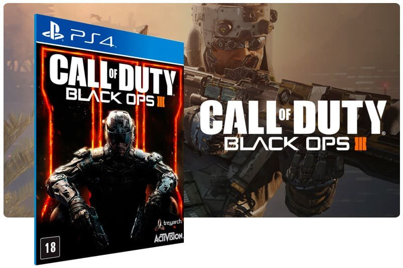 Banner do game Call Of Duty Black Ops 3 para PS4
