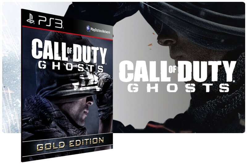 Banner do game Call Of Duty Ghosts Gold Edition para PS3