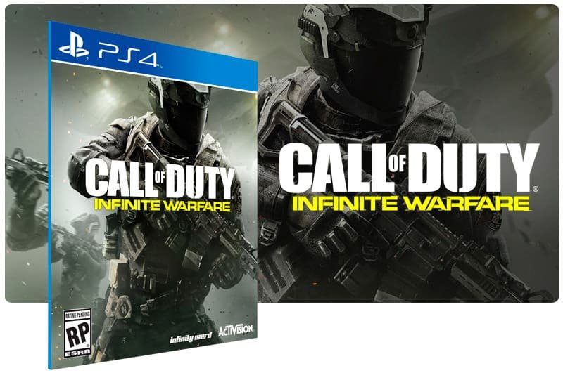 Banner do game Call Of Duty: Infinite Warfare para PS4