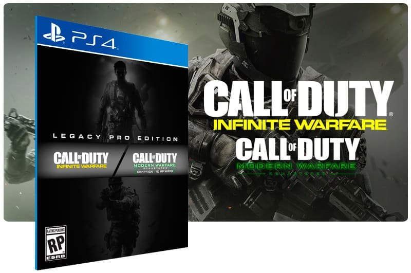 Banner do game Call Of Duty: Infinite Warfare Legacy Edition para PS4