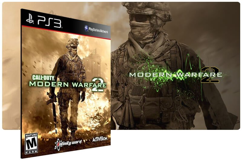 Banner do game Call Of Duty Modern Warfare 2 With Stimulus Package para PS3