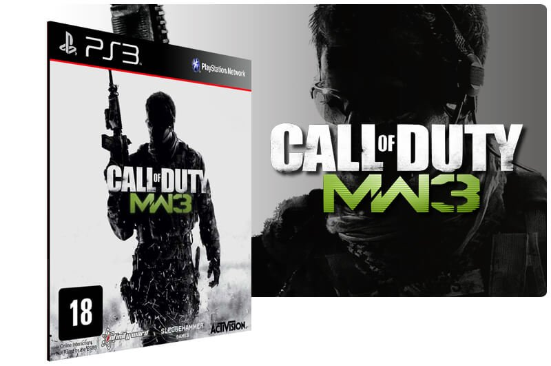 Banner do game Call Of Duty Modern Warfare 3 + Dlc Collection 1 Combo para PS3