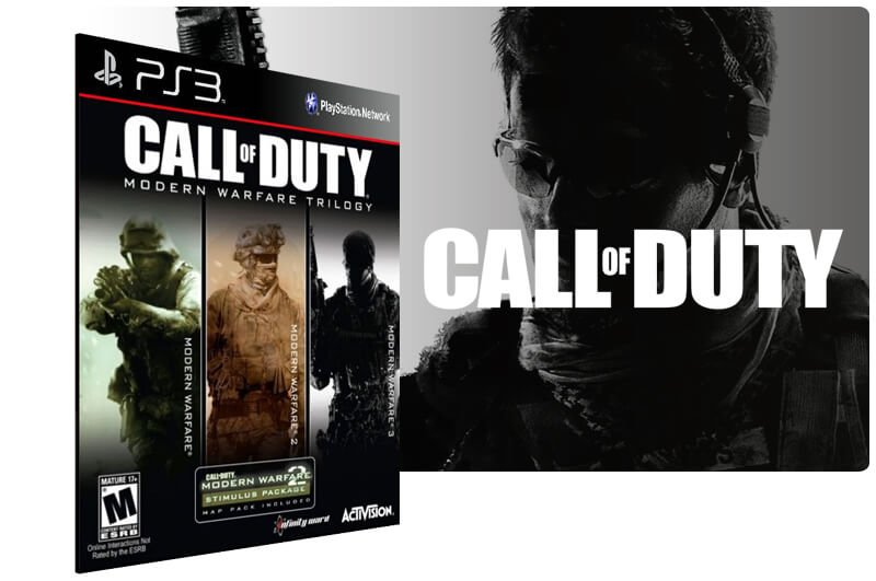 Banner do game Call Of Duty: Modern Warfare Bundle para PS3