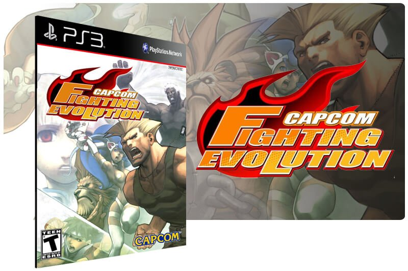 Banner do game Capcom Fighting Evolution para PS3