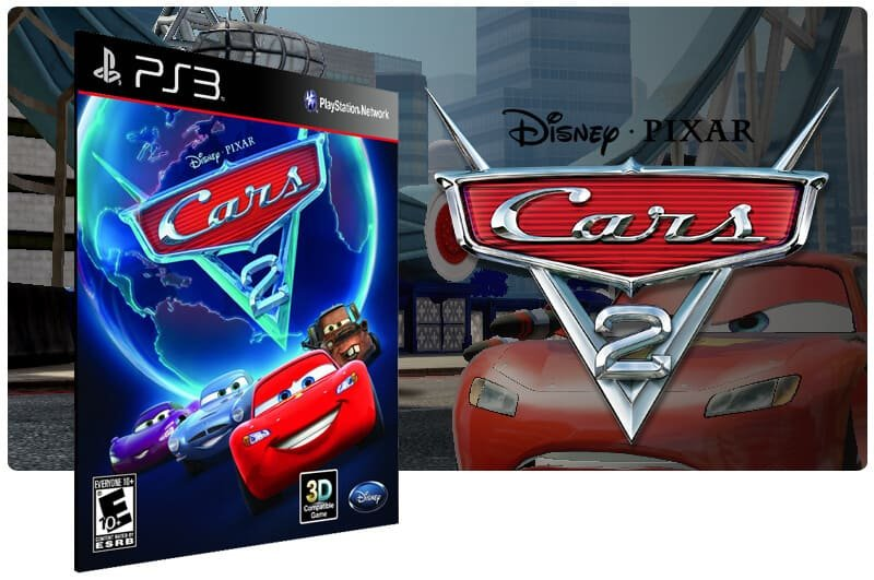 Banner do game Cars 2 The Video Game para PS3