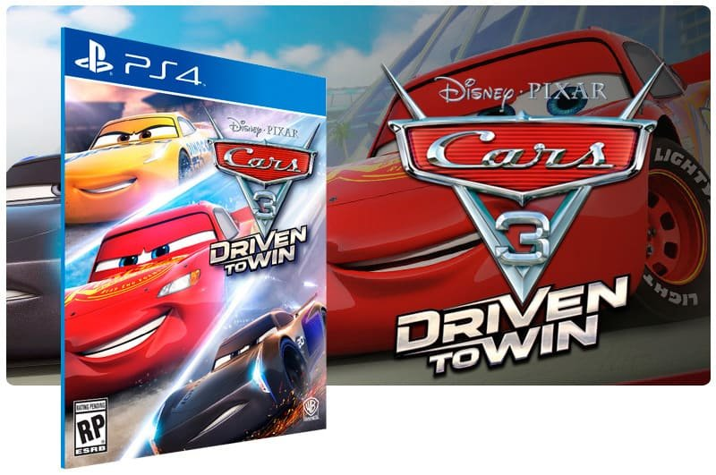 Banner do game Cars 3: Driven to Win para PS4