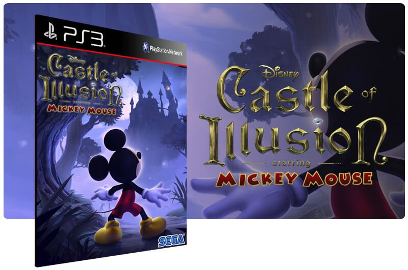 Banner do game Castle Of Illusion Starring Mickey Mouse para PS3