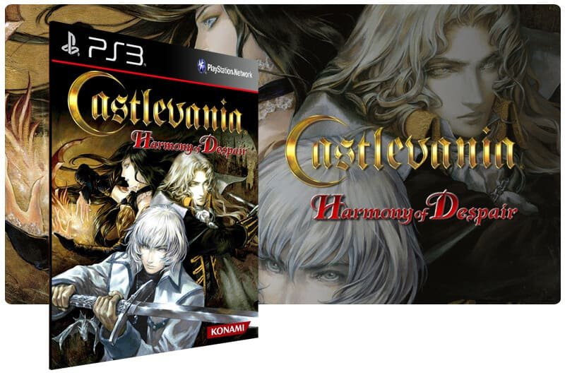 Banner do game Castlevania Harmony Of Despair para PS3
