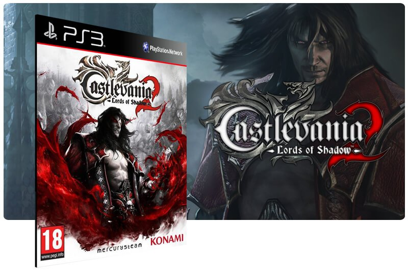 Banner do game Castlevania Lords of Shadow 2 para PS3