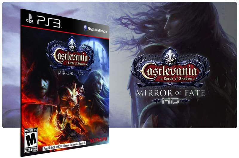 Banner do game Castlevania Lords Of Shadow Mirror Of Fate Hd para PS3