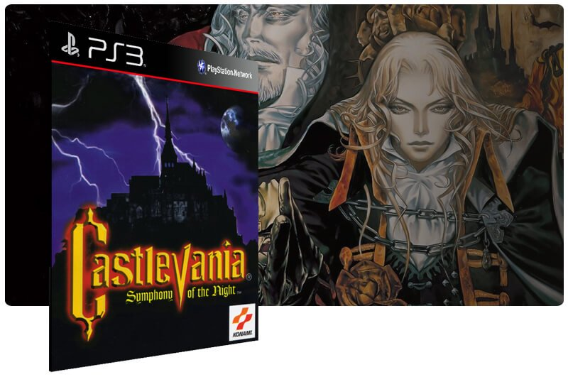 Banner do game Castlevania: Symphony Of The Night para PS3