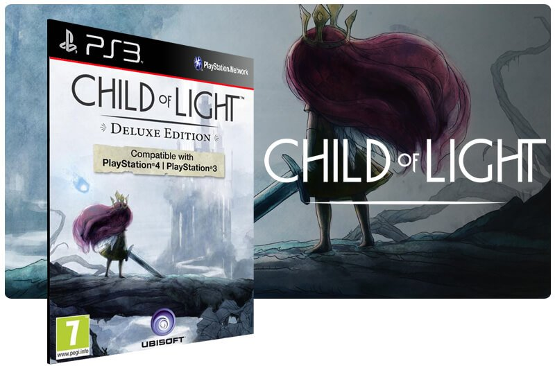 Banner do game Child Of Light Ultimate Edition para PS3
