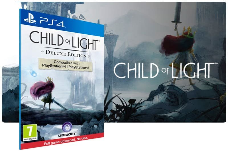 Banner do game Child Of Light Ultimate Edition para PS4