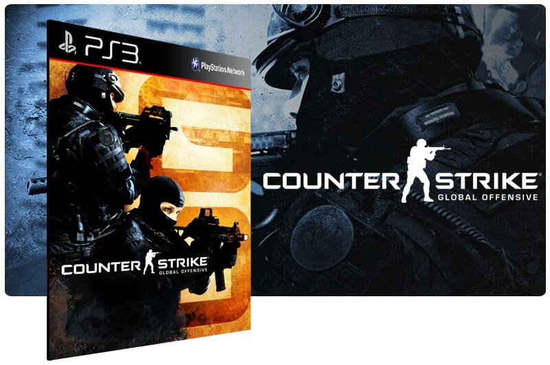 Banner do game Counter Strike Global Offensive para PS3