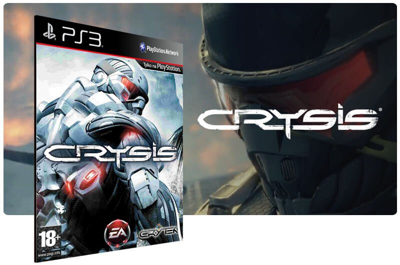 Banner do game Crysis para PS3