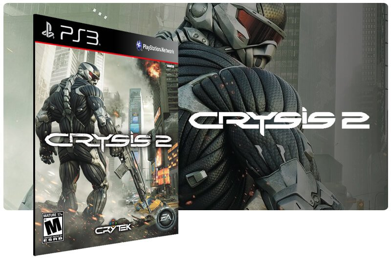 Banner do game Crysis 2 para PS3