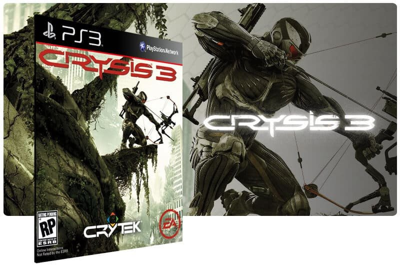 Banner do game Crysis 3 para PS3