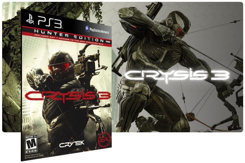 Banner do game Crysis 3 Ultimate Bundle para PS3