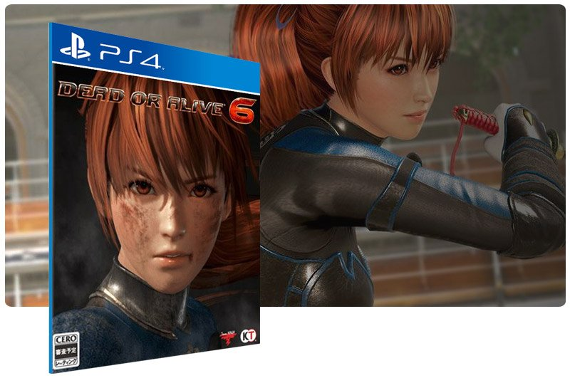 Banner do game DEAD OR ALIVE 6 para PS4
