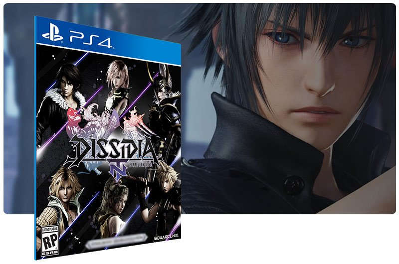 Banner do game Dissidia Final Fantasy NT para PS4