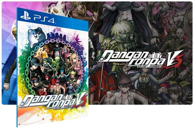 Banner do game Danganronpa V3 Killing Harmony para PS4
