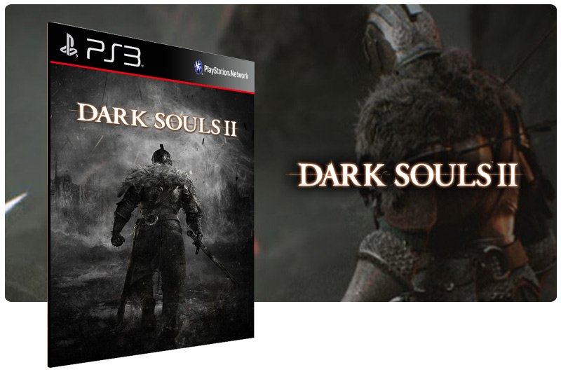 Banner do game Dark Souls 2 para PS3