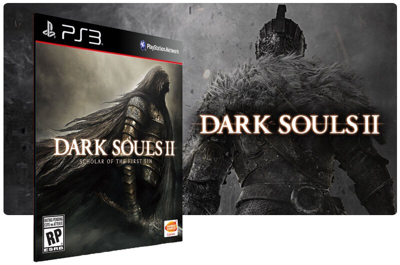 Banner do game Dark Souls 2 Scholar Of The First Sin para PS3