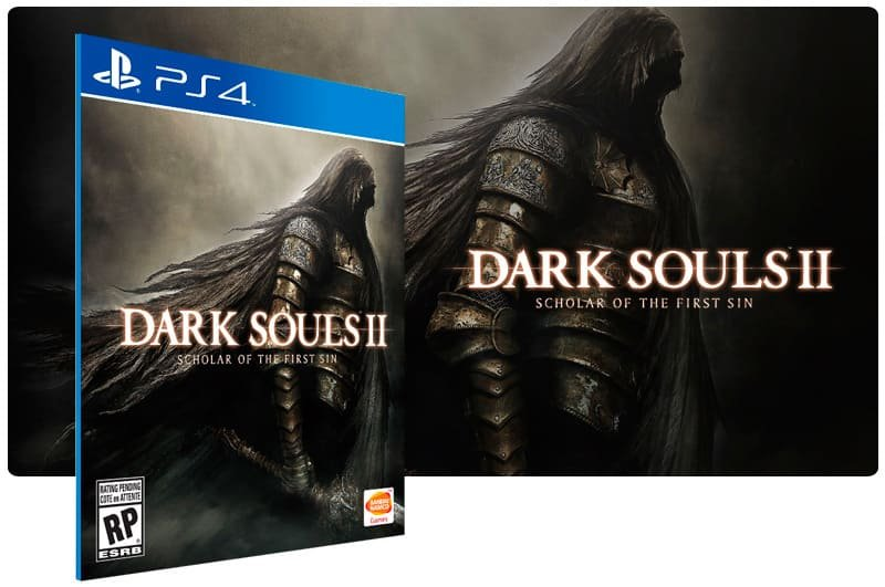 Banner do game Dark Souls 2 Scholar Of The First Sin para PS4