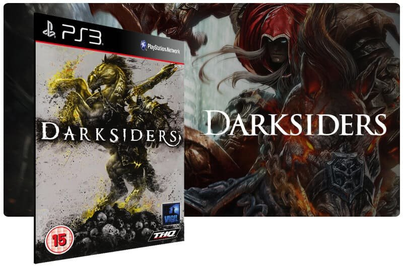 Banner do game Darksiders para PS3