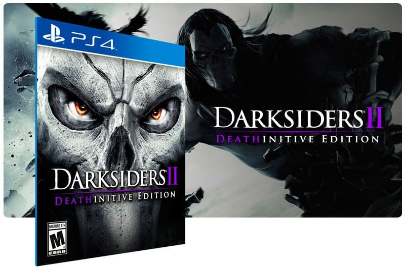 Banner do game Darksiders 2 Deathinitive Edition para PS4