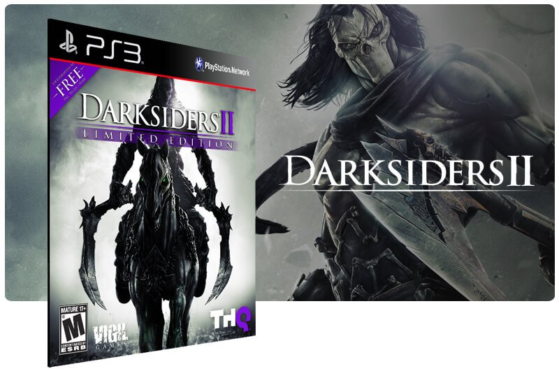 Banner do game Darksiders 2 Ultimate Edition para PS3