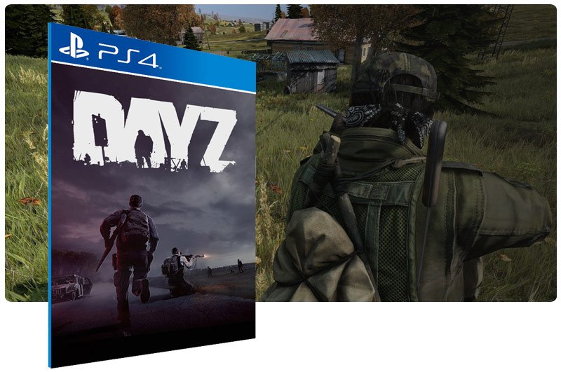 Banner do game DayZ para PS4