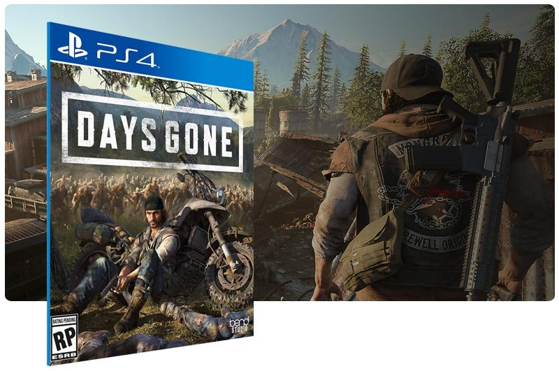 Banner do game Days Gone para PS4