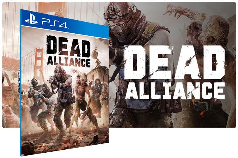 Banner do game Dead Alliance para PS4
