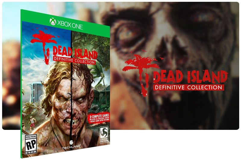 Banner do game Dead Island Definitive Collection em mídia digital para Xbox One