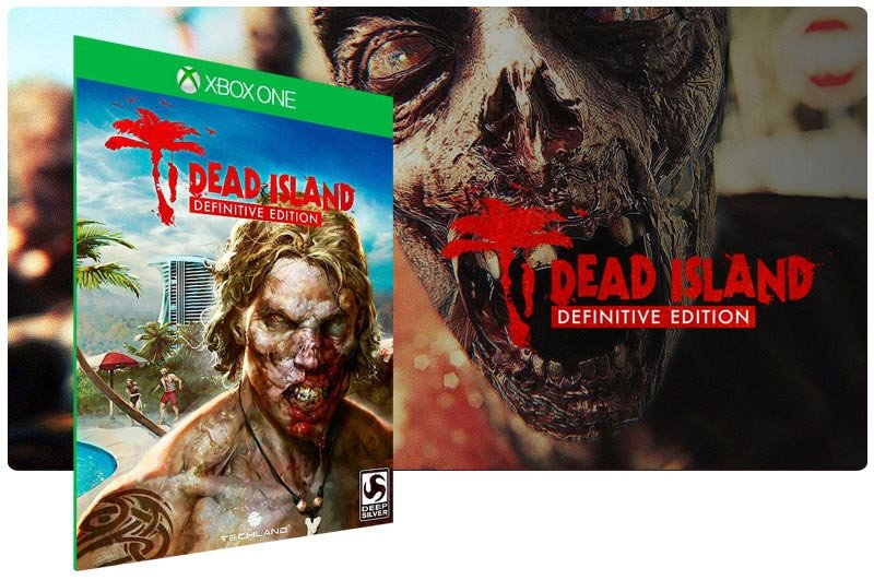 Banner do game Dead Island Definitive Edition em mídia digital para Xbox One