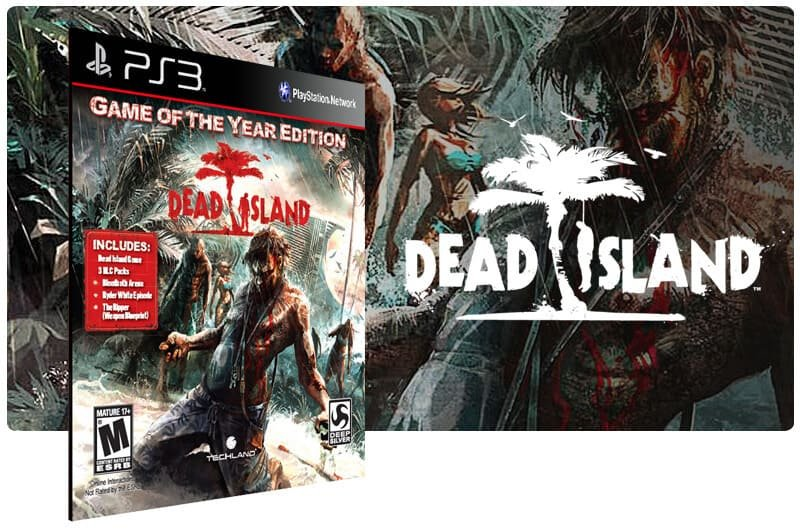 Banner do game Dead Island Game of the Year Edition para PS3