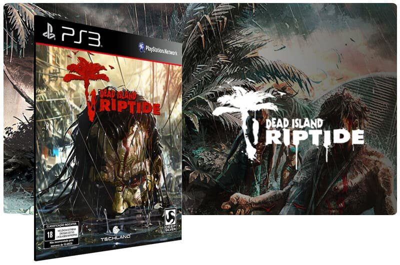 Banner do game Dead Island Riptide para PS3