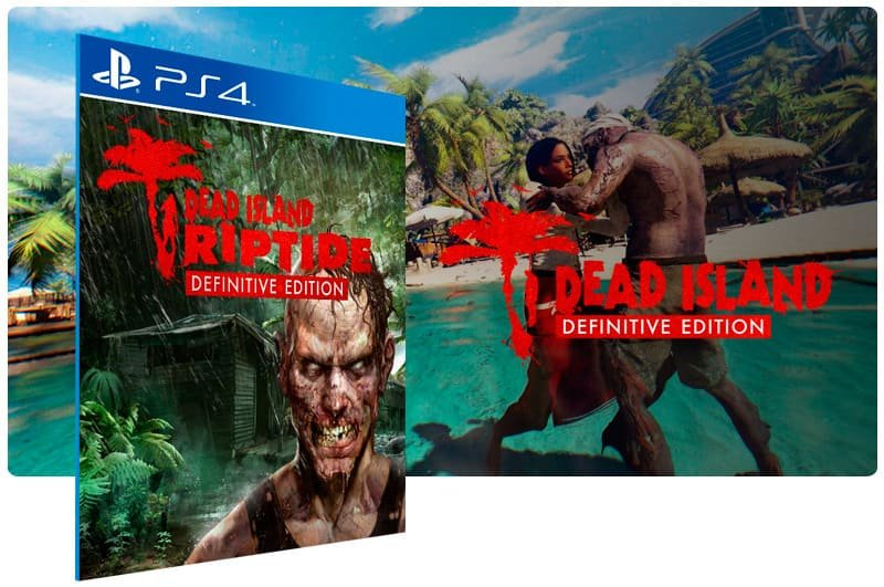 Banner do game Dead Island Riptide Definitive Edition para PS4