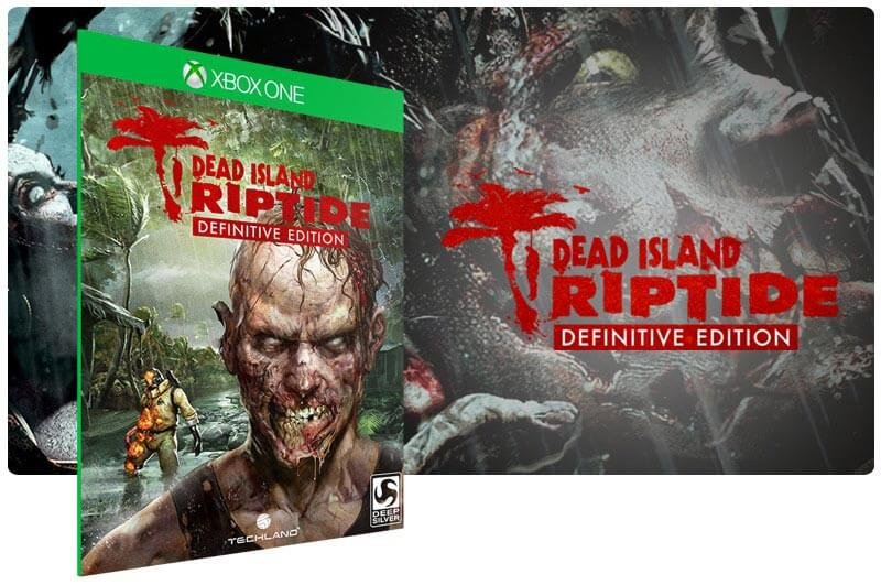 Banner do game Dead Island: Riptide Definitive Edition em mídia digital para Xbox One