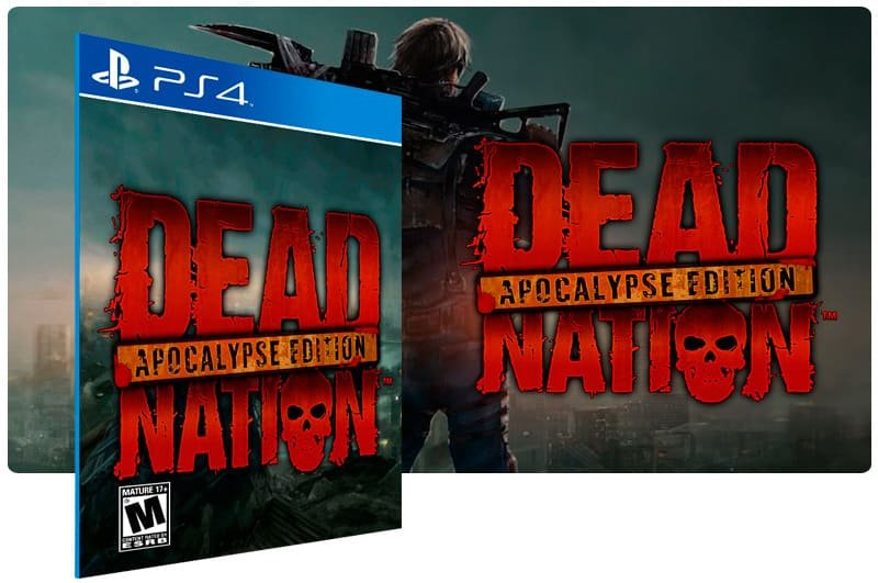 Banner do game Dead Nation Apocalypse Edition para PS4
