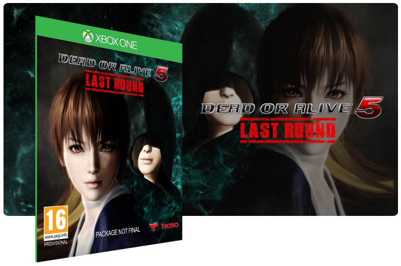 Banner do game Dead or Alive 5 Last Round em mídia digital para Xbox One