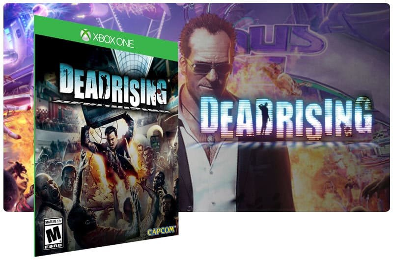 Banner do game Dead Rising em mídia digital para Xbox One