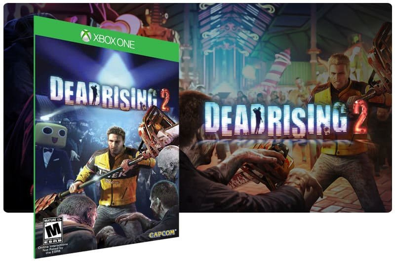 Banner do game Dead Rising 2 em mídia digital para Xbox One