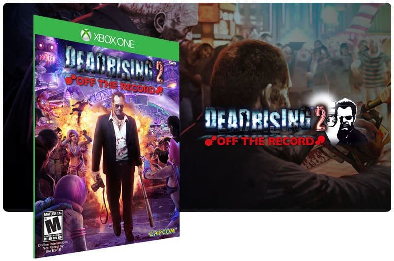 Banner do game Dead Rising 2: Off The Record em mídia digital para Xbox One