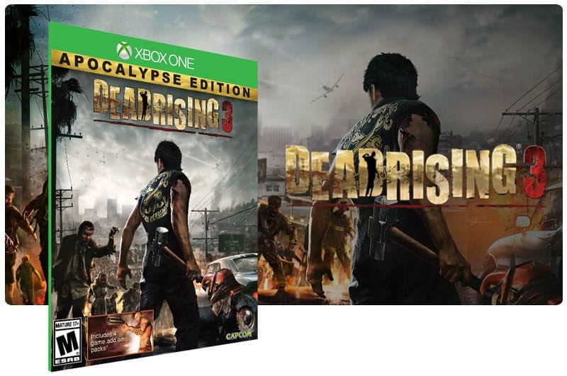 Banner do game Dead Rising 3: Apocalypse Edition em mídia digital para Xbox One