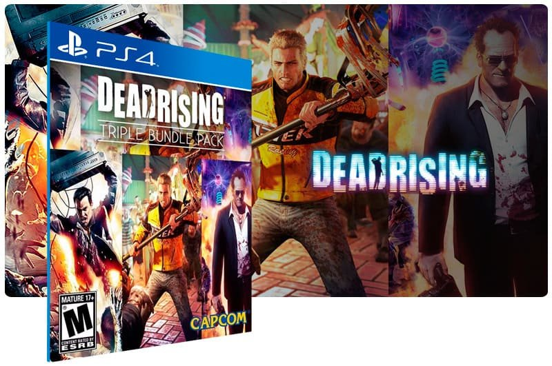 Banner do game Dead Rising Triple Pack para PS4