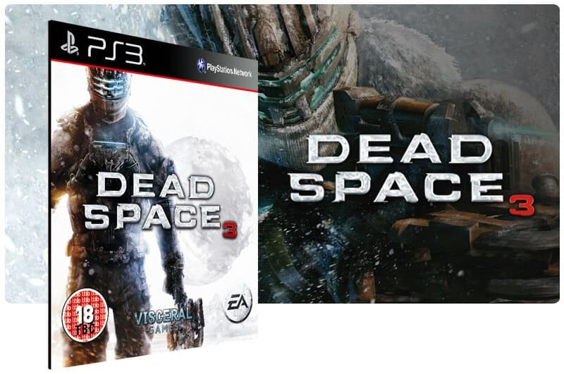 Banner do game Dead Space 3 para PS3