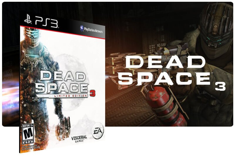 Banner do game Dead Space 3 Ultimate Edition para PS3