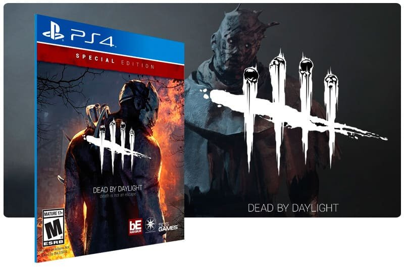 Banner do game Dead by Daylight: Special Edition para PS4
